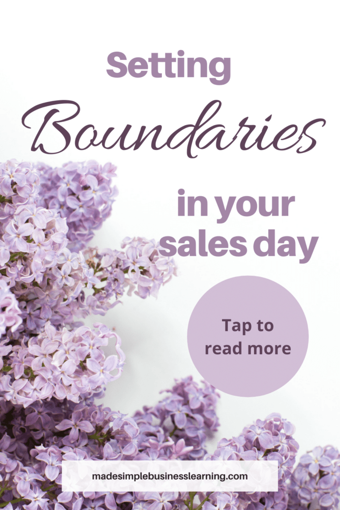 Setting Boundaries In Your Sales Workplace